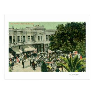 View of the CirclePalo Alto, CA Postcard
