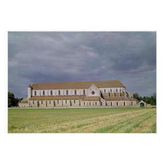 View of the Cistercian Abbey, built 1140-60 Poster