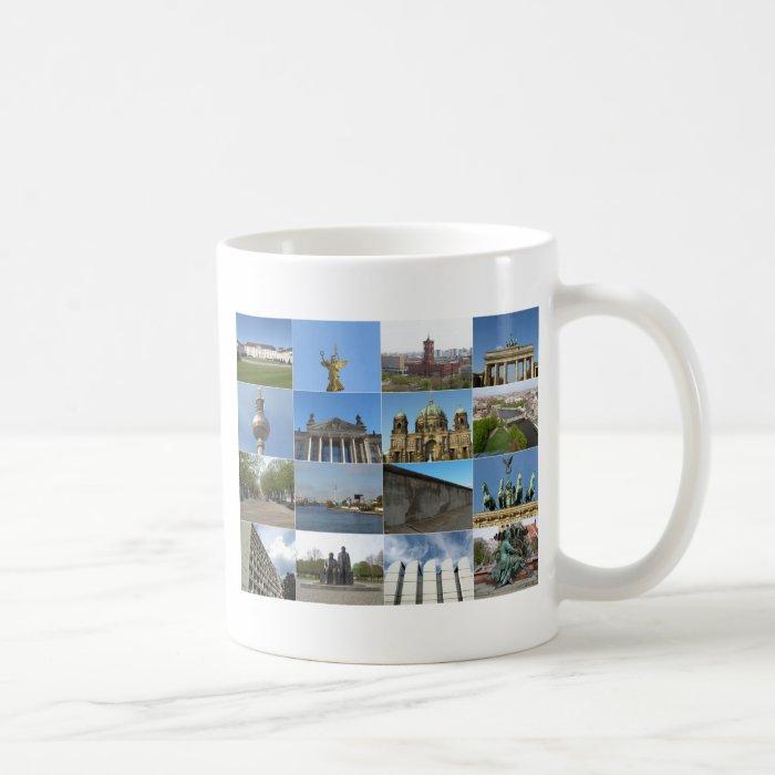 View of the city of Berlin in Germany Coffee Mug