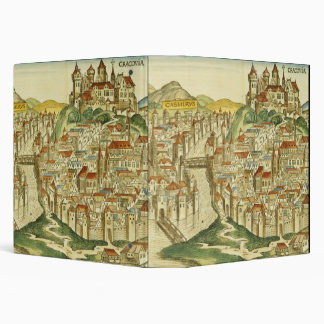 View of the city of Cracow (Kracow), from the Nure 3 Ring Binder