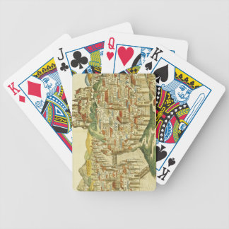 View of the city of Cracow (Kracow), from the Nure Bicycle Playing Cards
