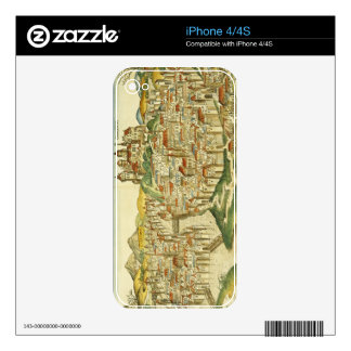 View of the city of Cracow (Kracow), from the Nure Decal For The iPhone 4