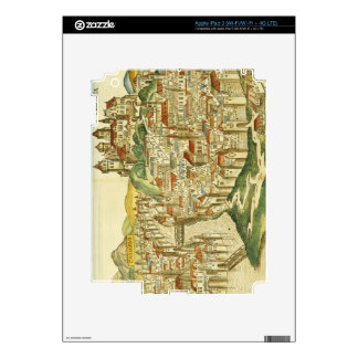 View of the city of Cracow (Kracow), from the Nure iPad 3 Skin