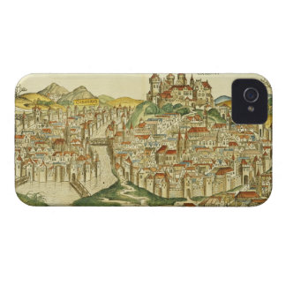 View of the city of Cracow (Kracow), from the Nure iPhone 4 Case