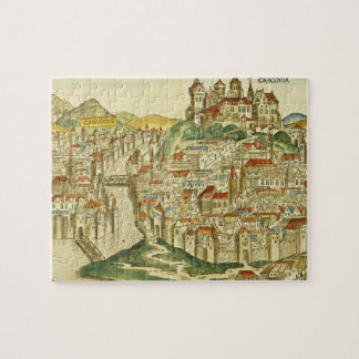 View of the city of Cracow (Kracow), from the Nure Jigsaw Puzzle