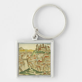 View of the city of Cracow (Kracow), from the Nure Keychain