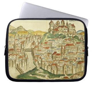 View of the city of Cracow (Kracow), from the Nure Laptop Sleeve