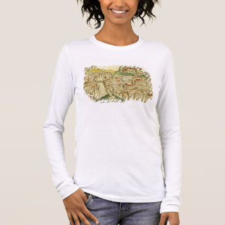 View of the city of Cracow (Kracow), from the Nure Long Sleeve T-Shirt