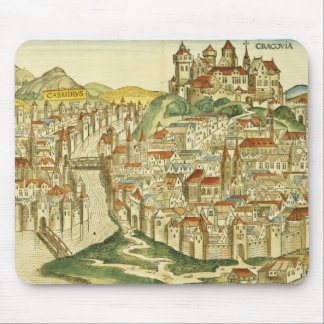 View of the city of Cracow (Kracow), from the Nure Mouse Pad
