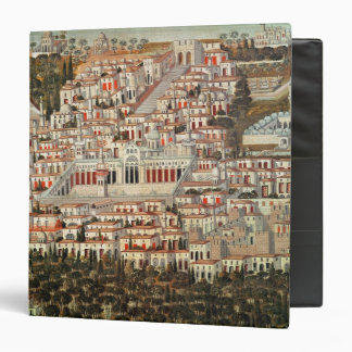 View of the city of Damascus Binder
