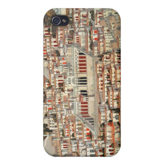 View of the city of Damascus Cover For iPhone 4