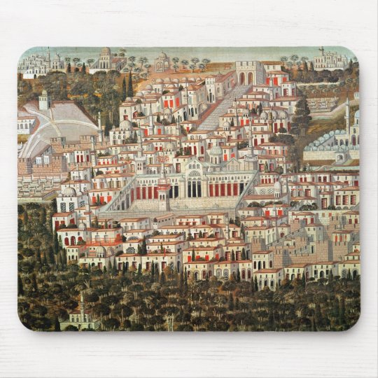 View of the city of Damascus Mouse Pad