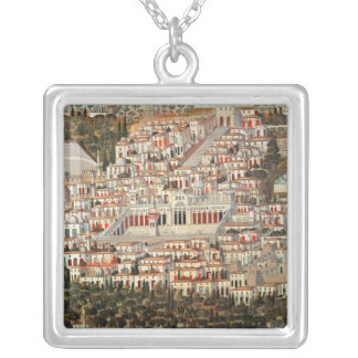 View of the city of Damascus Pendant