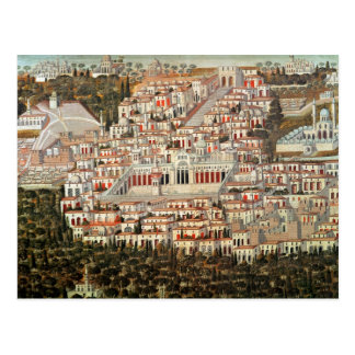 View of the city of Damascus Postcard