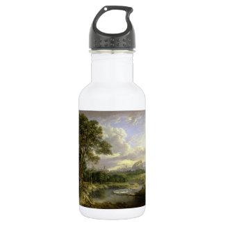 View of the City of Edinburgh c1822 18oz Water Bottle