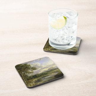 View of the City of Edinburgh c1822 Beverage Coasters