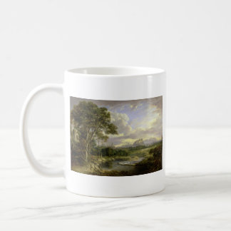 View of the City of Edinburgh c1822 Classic White Coffee Mug