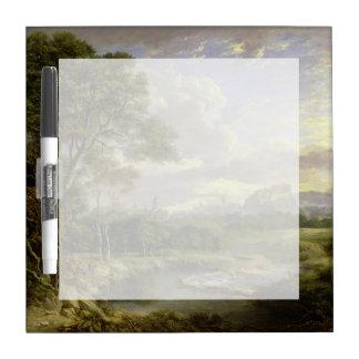 View of the City of Edinburgh c1822 Dry Erase Board