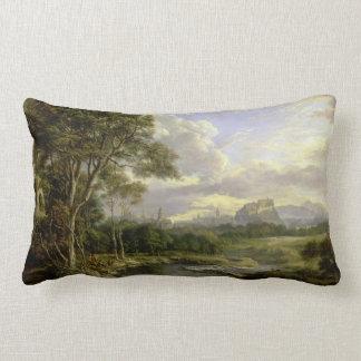View of the City of Edinburgh c1822 Lumbar Pillow