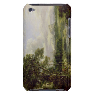 View of the City of Edinburgh, c.1822 (oil on canv iPod Case-Mate Case