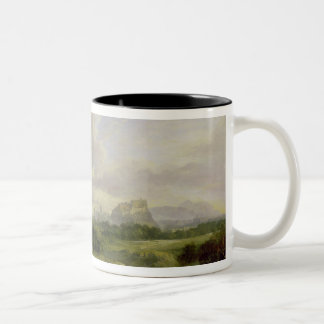 View of the City of Edinburgh, c.1822 (oil on canv Coffee Mugs