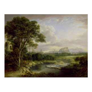 View of the City of Edinburgh, c.1822 (oil on canv Postcard