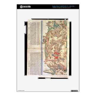 View of the city of Jerusalem, from the Nuremberg iPad 3 Skin