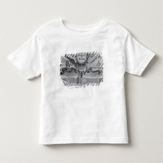View of the city of Madrid Toddler T-shirt