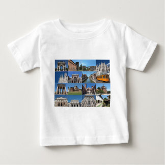 View of the city of Milan Milano in Italy Baby T-Shirt