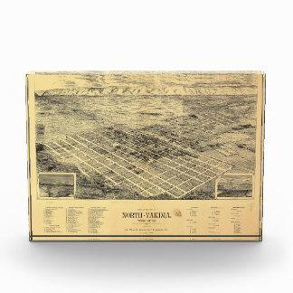 View of the city of North Yakima Washington (1889) Acrylic Award