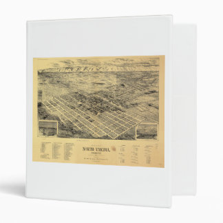 View of the city of North Yakima Washington (1889) Binder