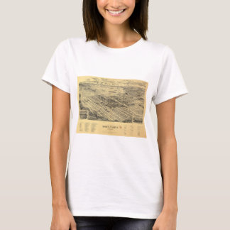 View of the city of North Yakima Washington (1889) T-Shirt