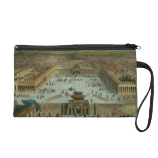 View of the City of Peking Taken from the South (e Wristlet Purse