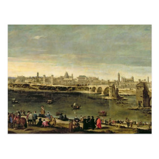 View of the City of Zaragoza Postcard