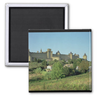 View of the city walls magnet