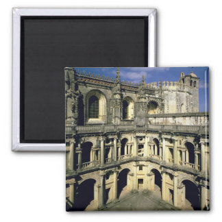 View of the Claustro dos Felipes 2 Inch Square Magnet