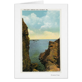 View of the Cleft at Perkins Cove Cards