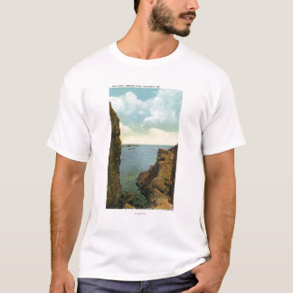 View of the Cleft at Perkins Cove T-Shirt