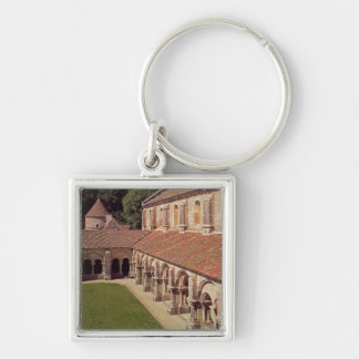 View of the cloister 2 keychain