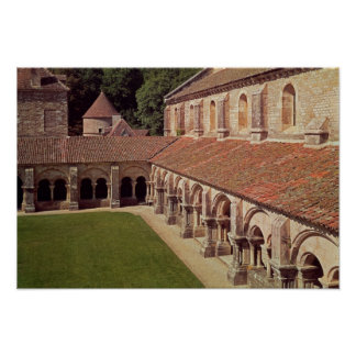View of the cloister 2 poster