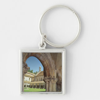 View of the cloister key chain
