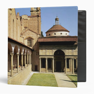 View of the cloisters and the Pazzi Chapel Binder