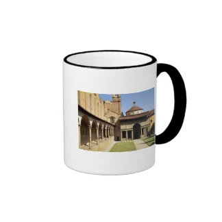 View of the cloisters and the Pazzi Chapel Mug
