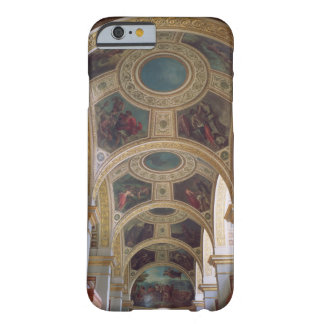 View of the coffered Library ceiling with gilded s Barely There iPhone 6 Case