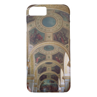 View of the coffered Library ceiling with gilded s iPhone 8/7 Case