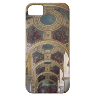 View of the coffered Library ceiling with gilded s iPhone SE/5/5s Case