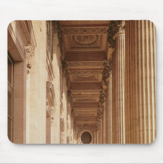 View of the colonnade of the Louvre Mousepads
