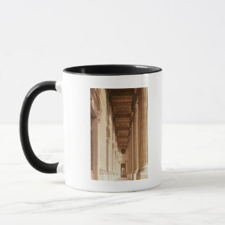 View of the colonnade of the Louvre Mug