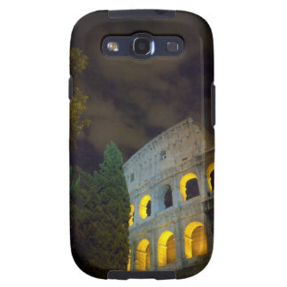 View of the Coloseum in Rome at night Galaxy S3 Case