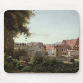 View of the Colosseum from the Farnese Gardens Mouse Pad